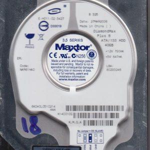Maxtor 6K040L0 40GB
