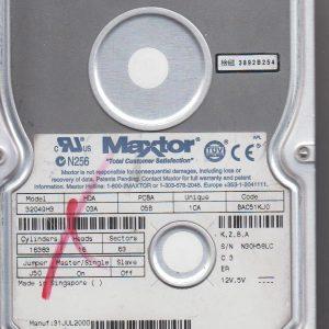 Maxtor 32049H3 20GB