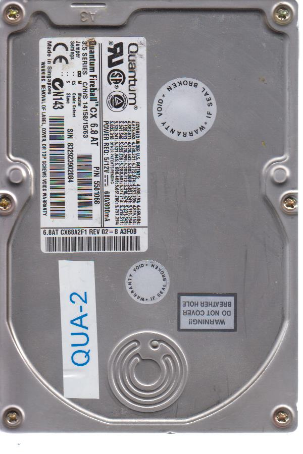 Quantum CX 6.8AT 10.2 GB