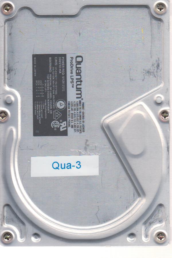 Quantum ProDrive LPS 420MB