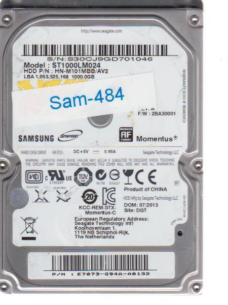 Samsung ST1000LM024 1000GB