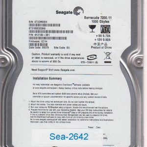 Seagate ST31000333AS 1000GB