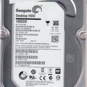 Seagate ST1000DM003 1000GB