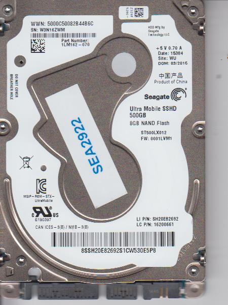 Seagate ST500LX012 500GB