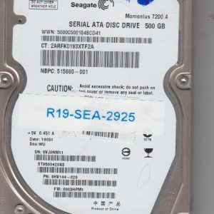 Seagate ST9500420AS 500GB