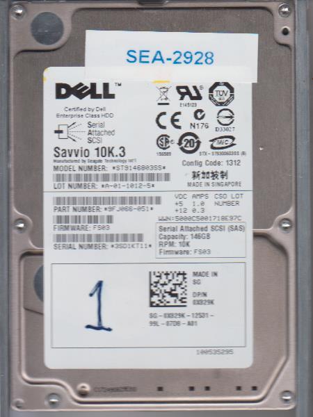 Seagate ST9146803SS 146GB