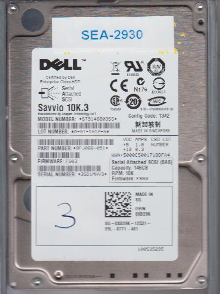 Seagate ST9146803SS 146GB