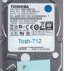 Toshiba MQ01ABD100 1TB
