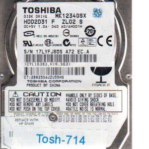 Toshiba MK1234GSX 120GB