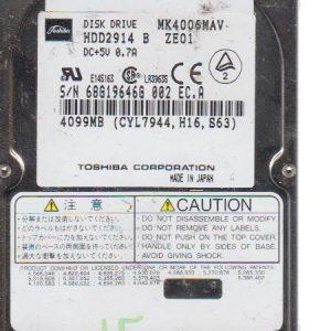 Toshiba MK4006MAV 4099 MB