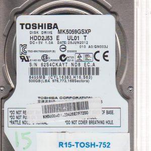 Toshiba MK5059GSXP 500 GB