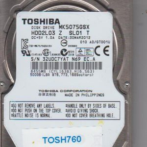 Toshiba MK5075GSX 500GB