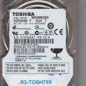 Toshiba MK5065GSX 500GB