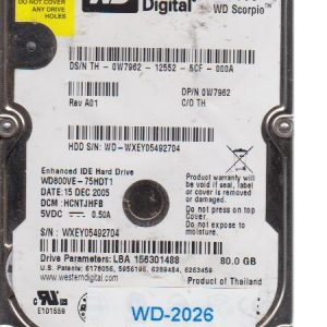 Western Digital WD800VE 80 GB
