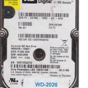 Western Digital WD800VE 80 GB