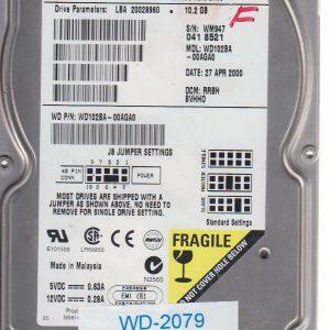Western Digital WD103BA-00AGA0 10.2GB