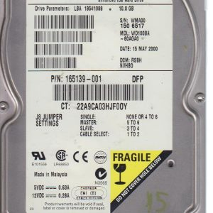 Western Digital WD100BA 10 GB