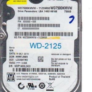 Western Digital WD7500KMVW-11ZSMS0 750GB