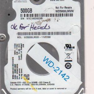Western Digital WD5000LMVW-11VEDS6 500GB
