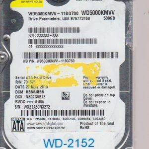 Western Digital WD5000KMVV-11BG7S0 500GB