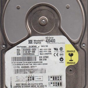 Western Digital AC420400-00DV 20GB