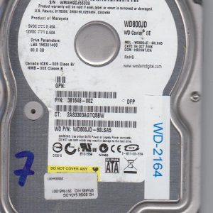 Western Digital WD800JD-60LSA5 80 GB