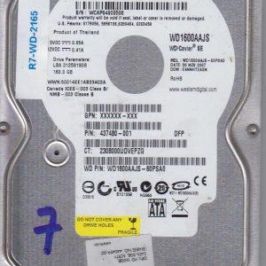 Western Digital WD1600AAJS-60PSAO 160 GB