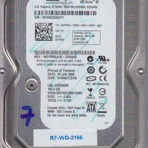 Western Digital WD1600AAJS-75WAA0 160 GB