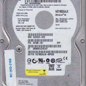 Western Digital WD1600AAJS-60PSA0 160 GB