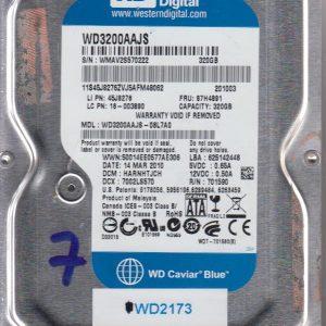 Western Digital WD3200AAJS-08L7A0 320GB