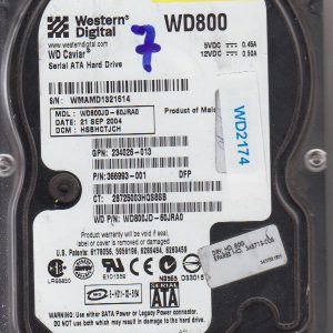 Western Digital WD800JD-60JRA0 80GB
