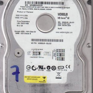 Western Digital WD800JB-00JJC0 80GB
