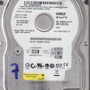 Western Digital WD800JB-00JJC0 80GB