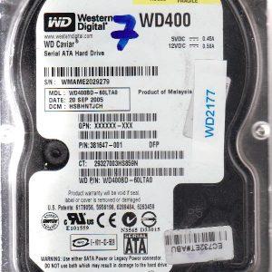 Western Digital WD400BD-60LTA0 40GB