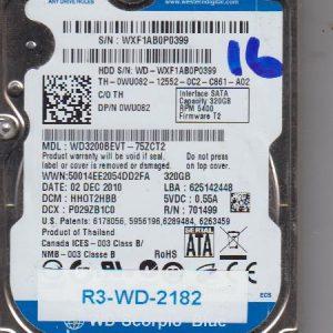 Western Digital WD3200BEVT-75ZCT2 320GB