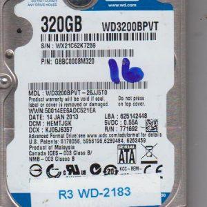 Western Digital WD3200BPVT-26JJ5T0 320GB