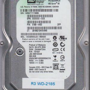 Western Digital WD3200AAJS-65B4A0 320GB