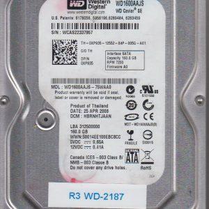 Western Digital WD1600AAJS-75WAA0 160GB