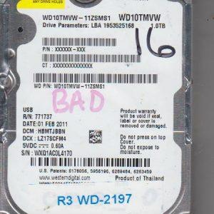 Western Digital WD10TMVW-11ZSMS1 1TB
