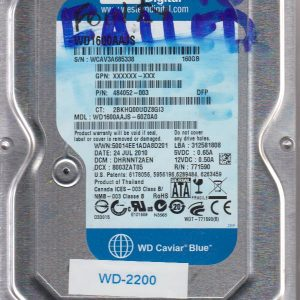 Western Digital WD1600AAJS-60Z0A0 160GB
