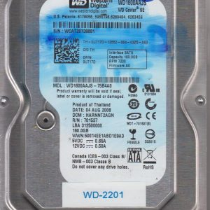 Western Digital WD1600AAJS-75B4A0 160GB