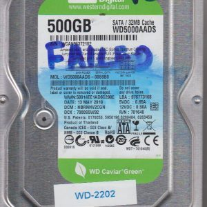 Western Digital WD5000AADS-00S9B0 500GB