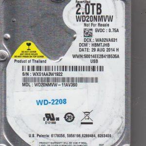 Western Digital WD20NMVW-11AV3S0 2TB