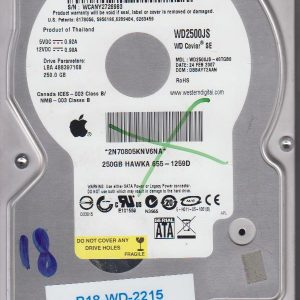 Western Digital WD2500JS-40TGB0 250GB