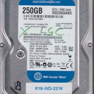 Western Digital WD2500AAKX-001CA0 250GB
