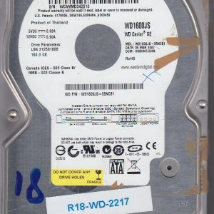 Western Digital WD1600JS-55NCB1 160GB